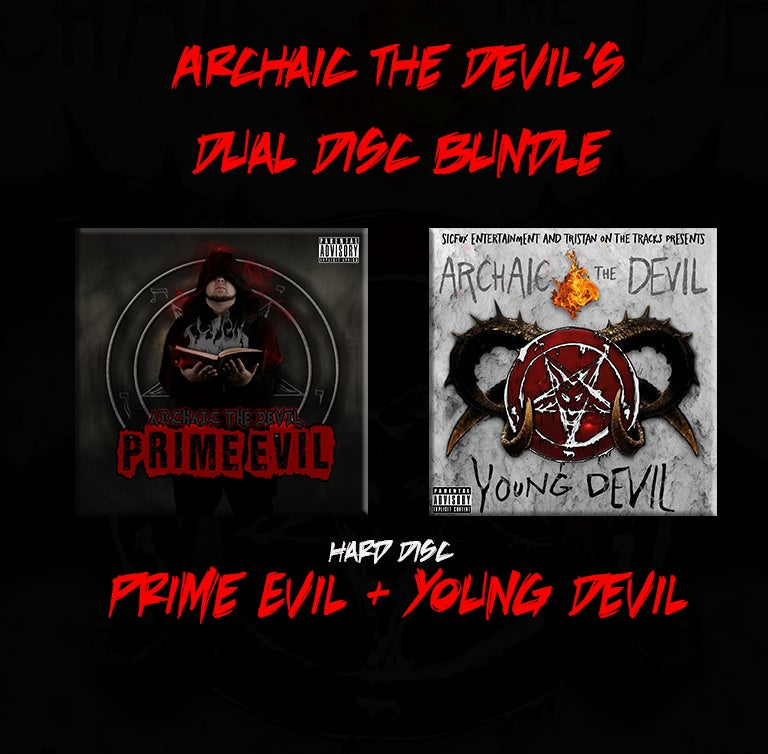 Image of Archaic the Devil's Dual Disc Bundle