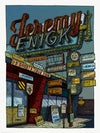 "Jeremy Enigk  (Spring 2019 U.S. Ghosts Tour) • L.E. Official Poster (18"" x 24"")"