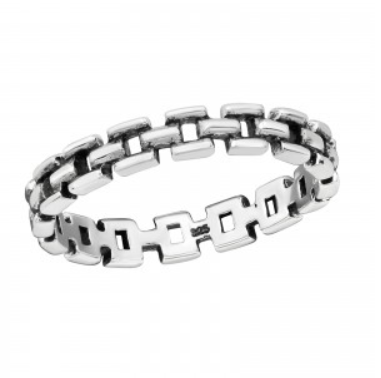 Image of Bound ring (sterling silver)