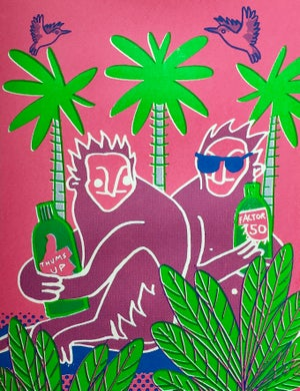 Image of Monkeys On Holiday  by Charlie Evaristo-Boyce and Jordan T Gray