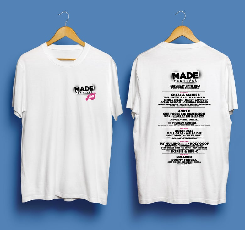 Image of MADE Festival 2019 - White T-Shirt