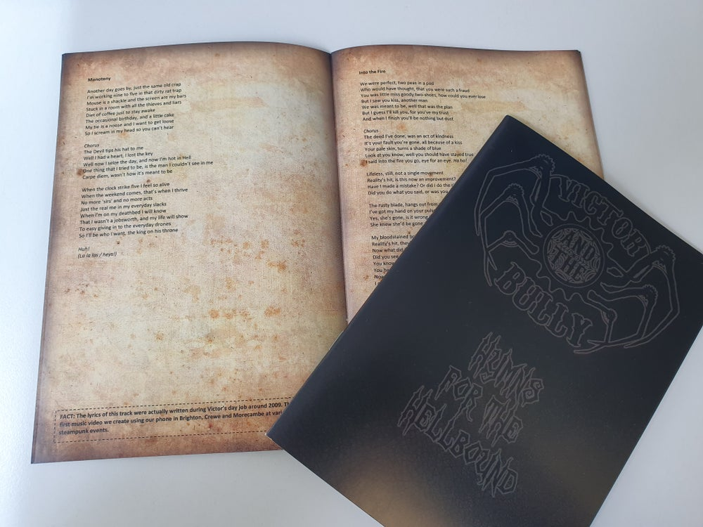 Image of Hymns for the Hellbound - Lyric Book for all 3 Albums