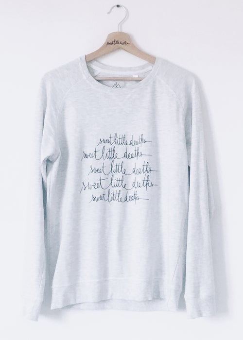 Image of Sweatshirt Unisexe - motif Monstera, Orchidée, SweetLittleDeaths