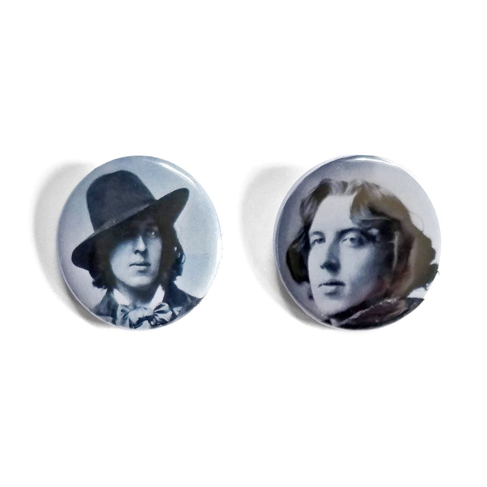 Oscar Wilde Button Badges