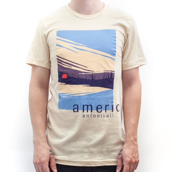 Image of Sunrise T-Shirt (Soft Cream) w/ TOUR DATES