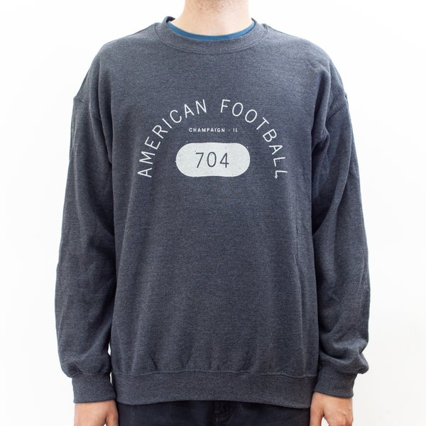 Image of 704 Crew Neck Sweatshirt (Dark Heather)