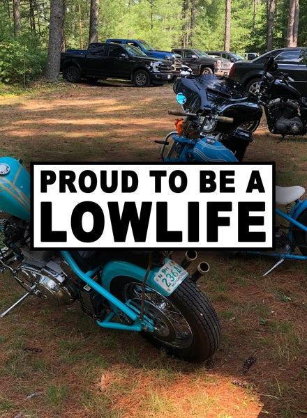Image of Proud Lowlife [Sticker]