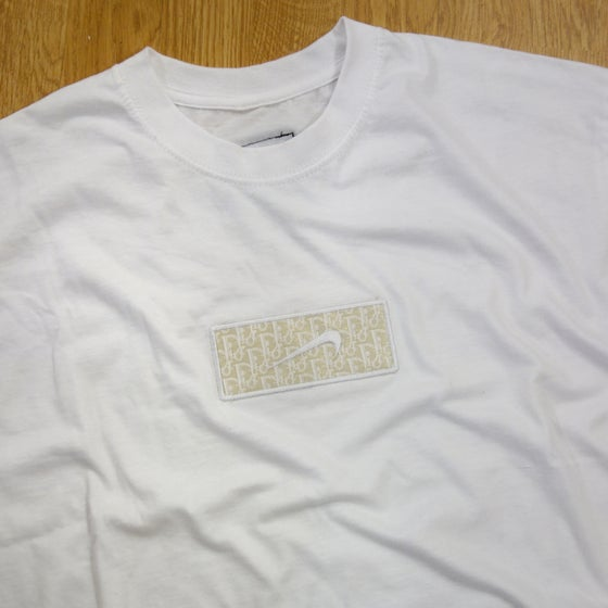Image of Total White Dior Custom Tee