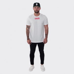 Image of RED BOX TEE • WHITE