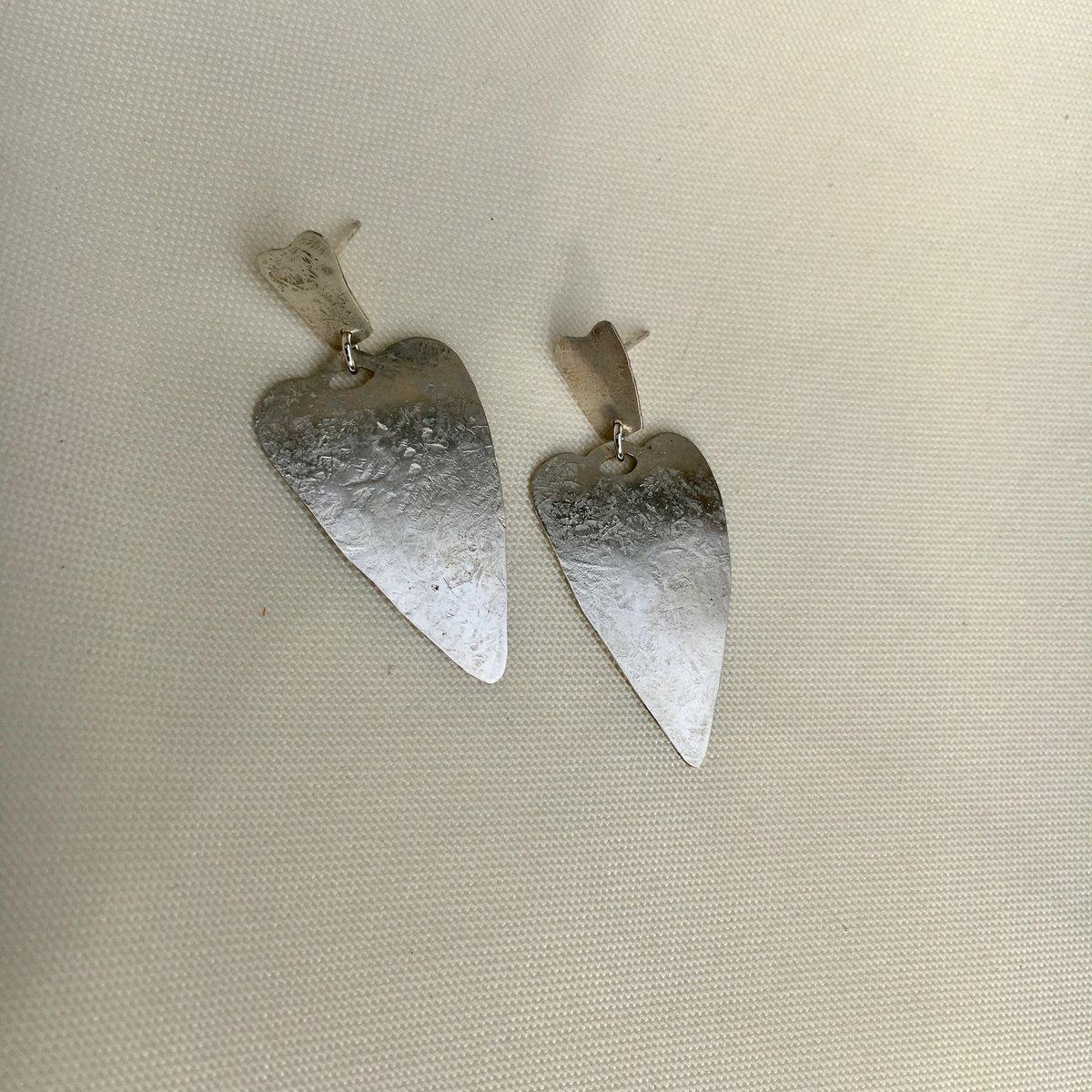 Image of spade earring