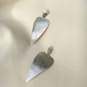 Image of XL spade earring
