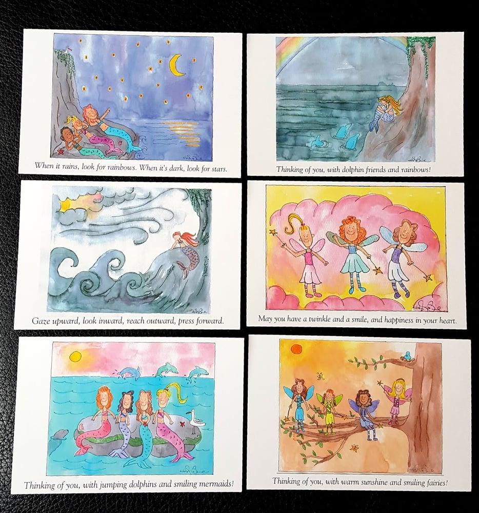 Image of Artwork Postcards