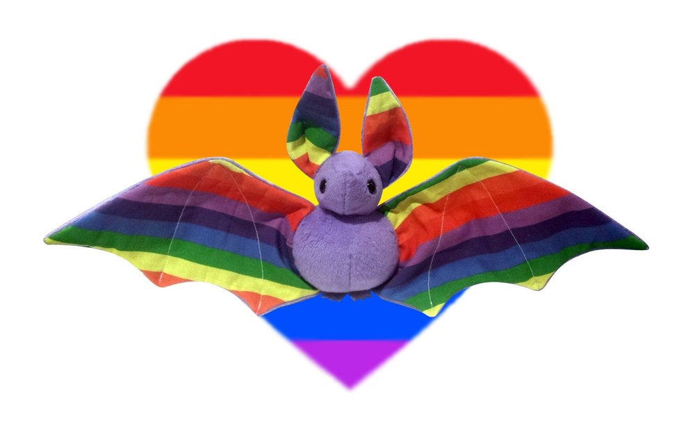 Image of Pride bat - Multiple Colour Options - Made to Order