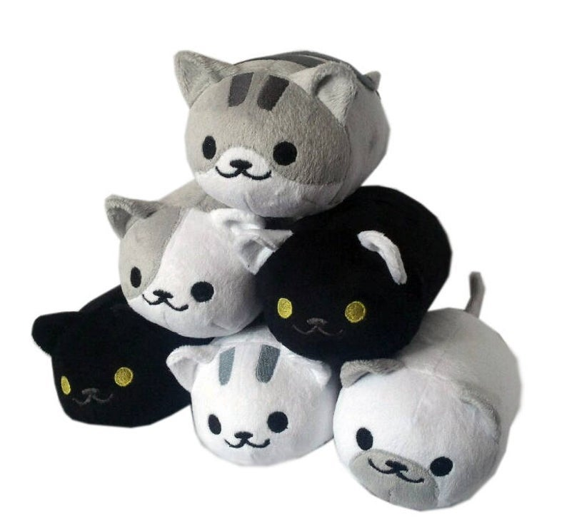 Image of Neko Atsume cat tsums