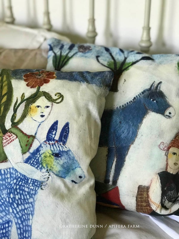 Image of Donkey Pillows