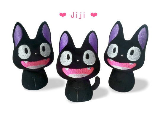 Image of Black Cat Jiji - Ready to Ship