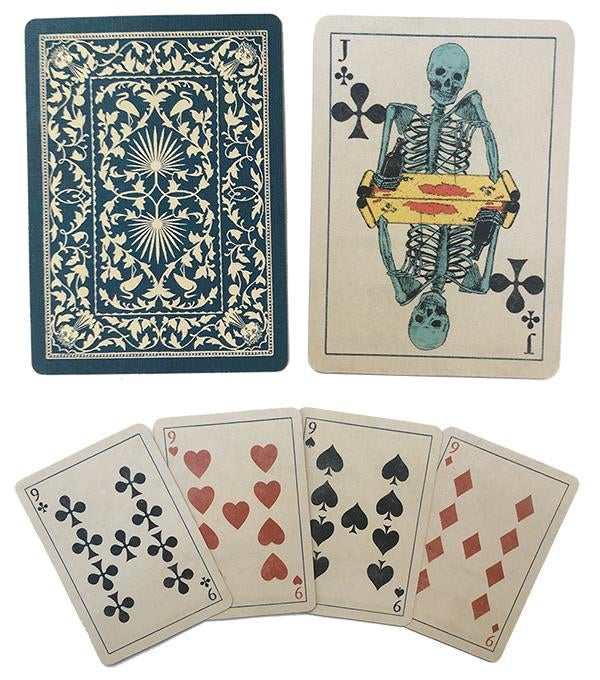 Image of Skeleton Playing Cards