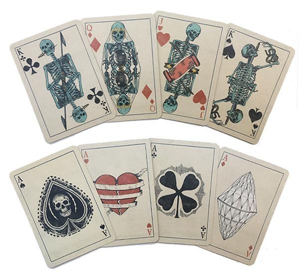 Image of Skeleton Playing Cards