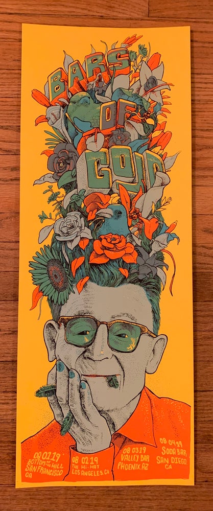 Image of Bars of Gold - West Coast Tour Poster