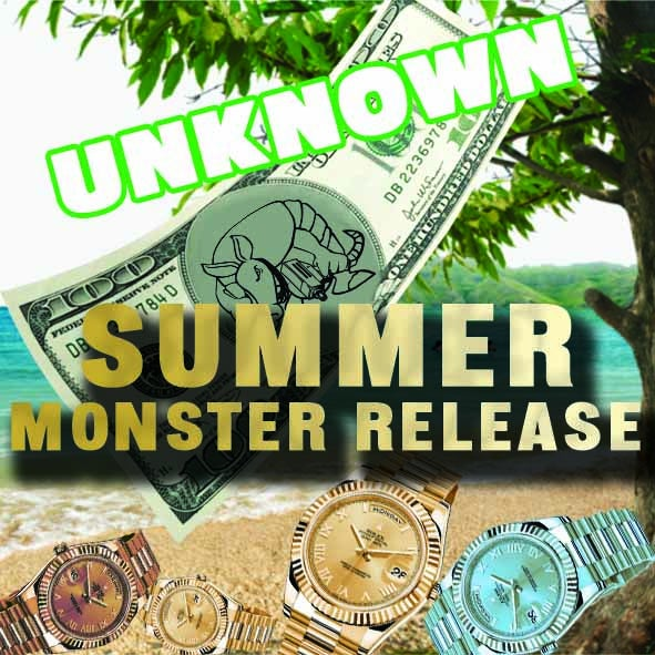 """Image of """"UNKNOWN"""" SUMMER MONSTER RELEASE"""