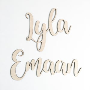 Image of custom name plate