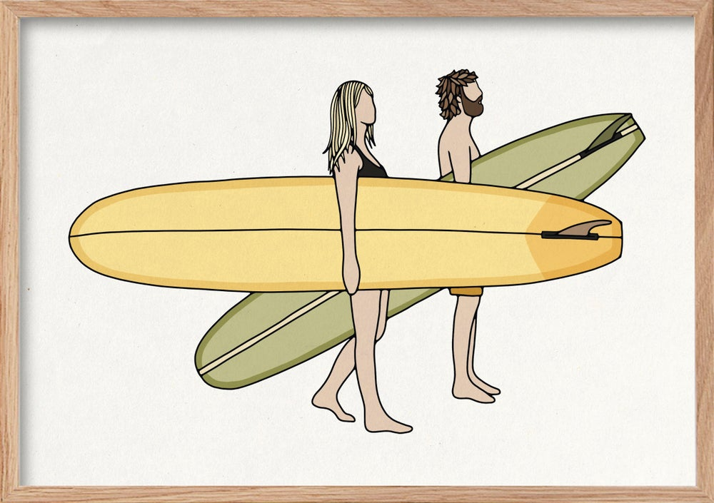 Image of SURF ART PRINT - 'SESSIONS'