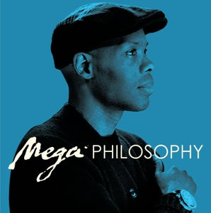 "Image of CORMEGA ""MEGA PHILOSOPHY"" 5 YEAR ANNIVERSARY (Electric Blue) Colored Vinyl LP reissue"