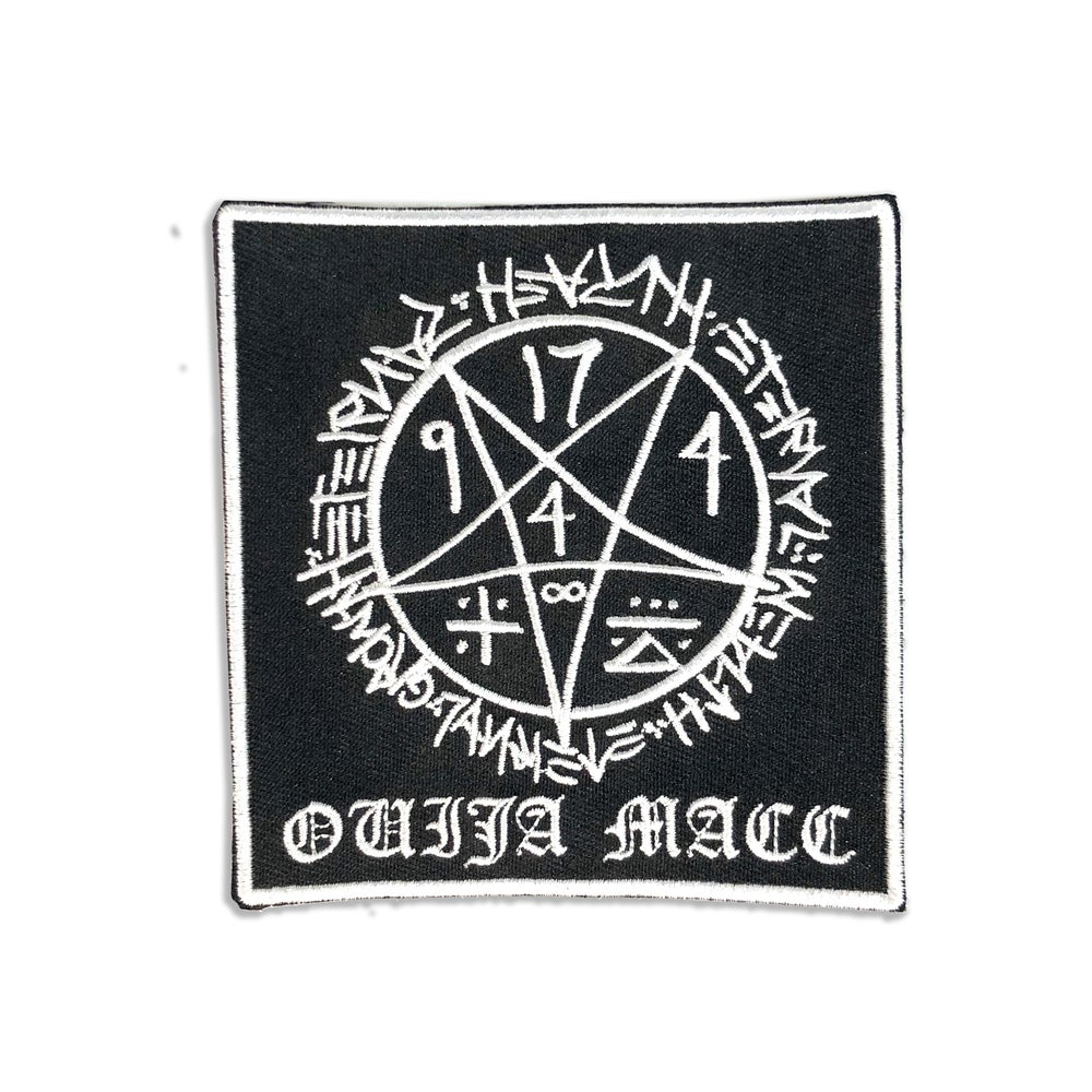 Image of Ouija Macc - Heart, Wealth, Growth - Patch
