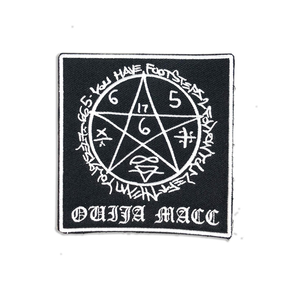 Image of Ouija Macc -FOOTSTEPS - Patch