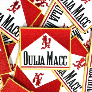 Image of Ouija Macc - Resistance: Walk to Wasteland logo - patch