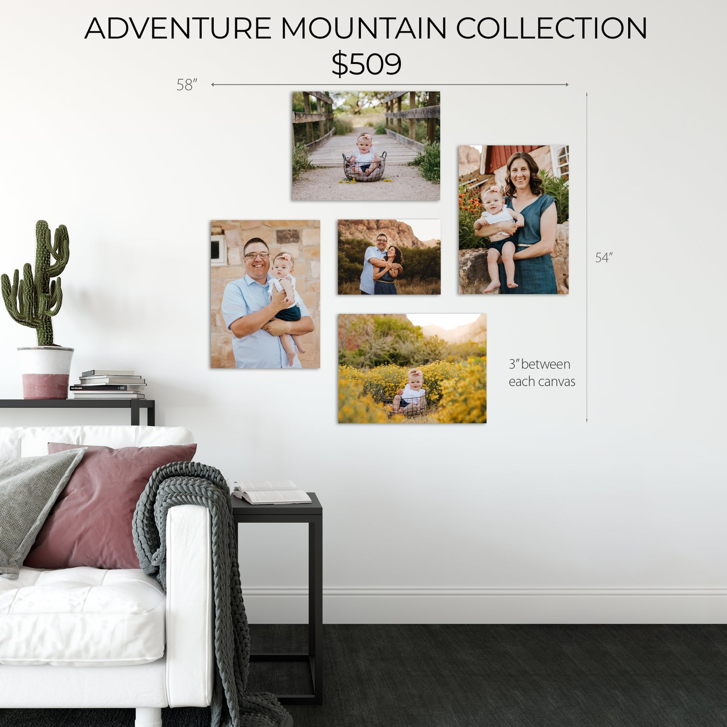 Image of ADVENTURE MOUNTAIN CANVAS COLLECTION