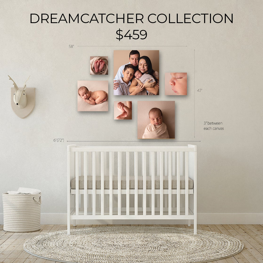 Image of DREAMCATCHER CANVAS COLLECTION