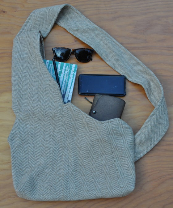 Image of Idaho Bag - Tan Tweed