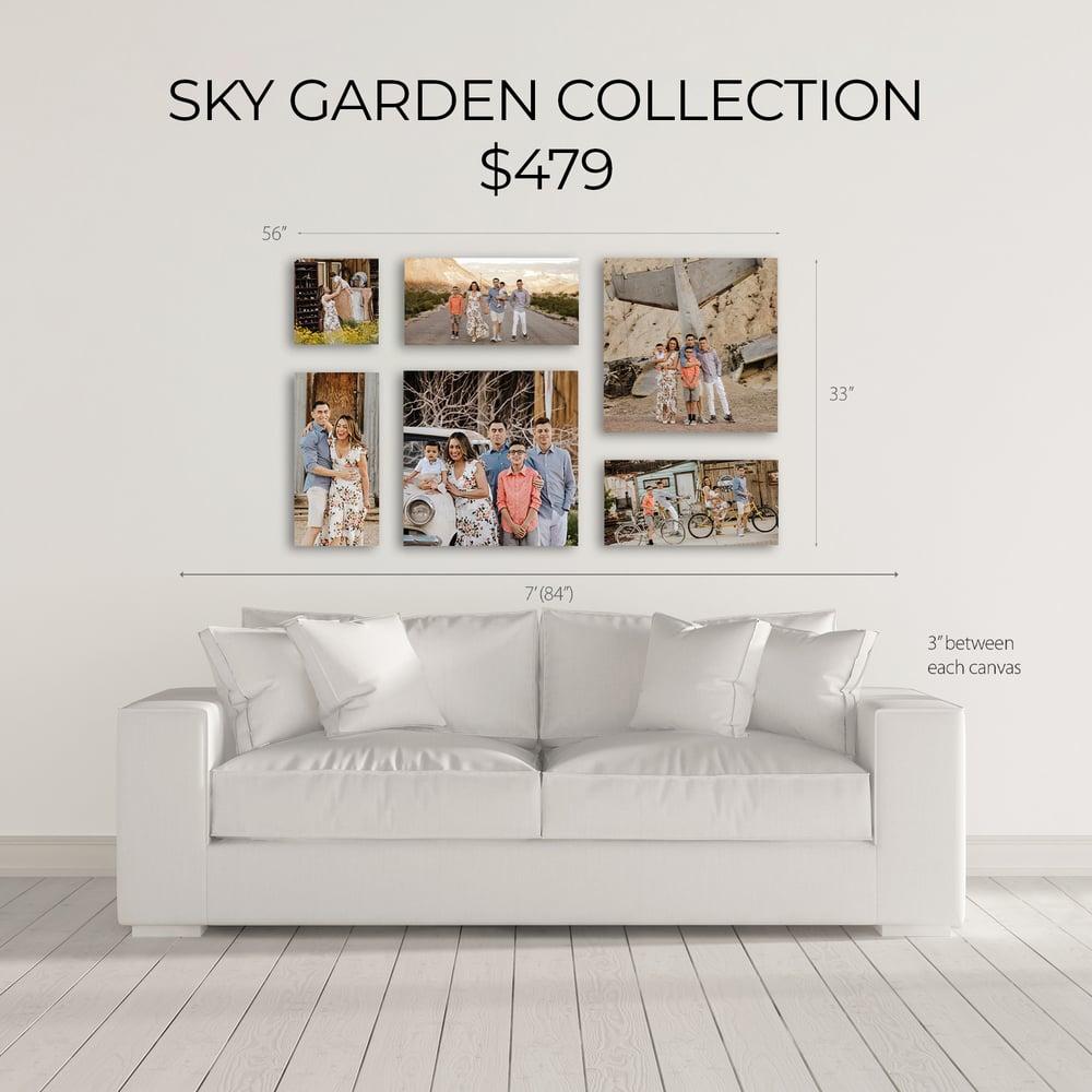 Image of SKY GARDEN CANVAS COLLECTION