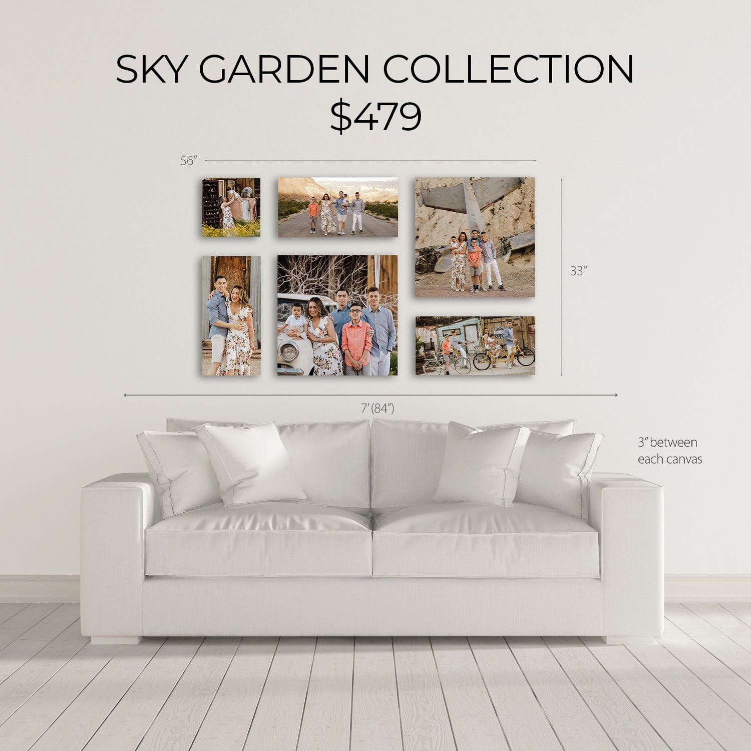 Image of SKY GARDEN CANVAS COLLECTION