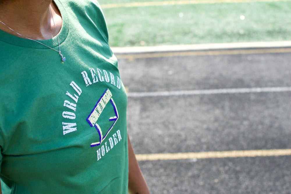 Women's World Record Holder Tee