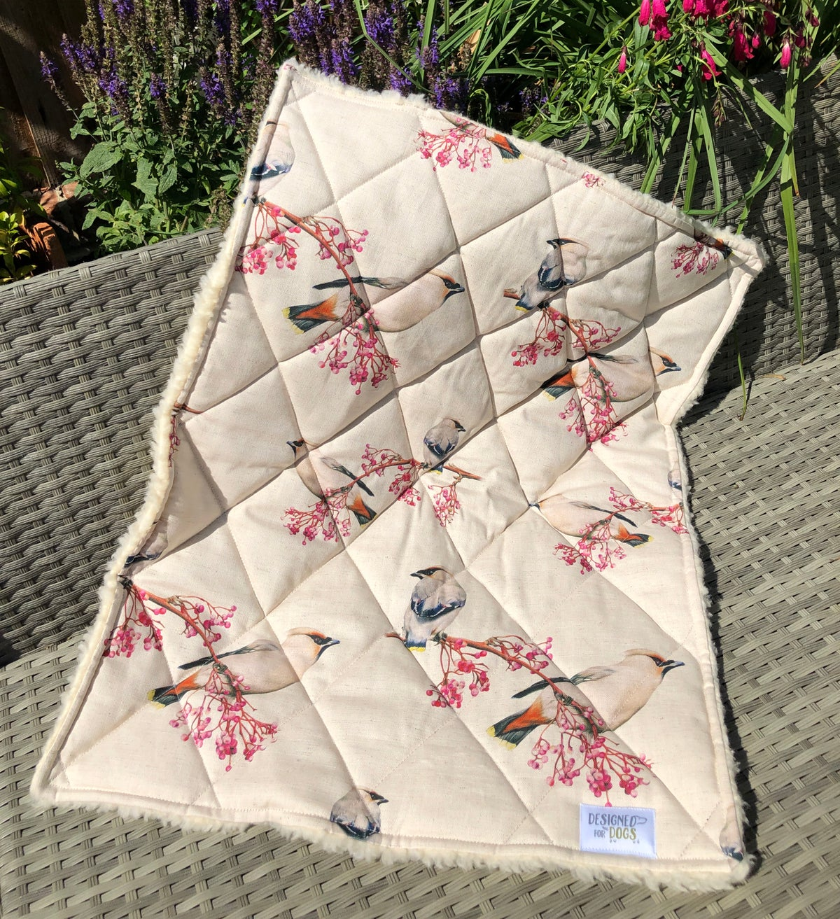 Image of 'Waxwing' Blankets & Throws