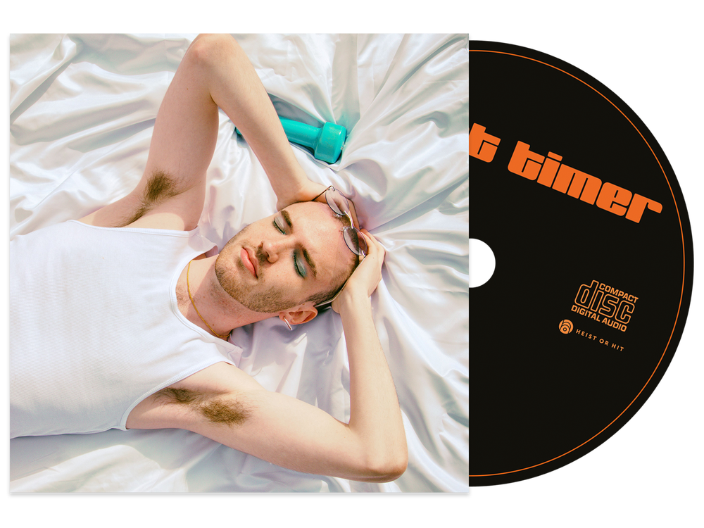Image of 'first timer' CD