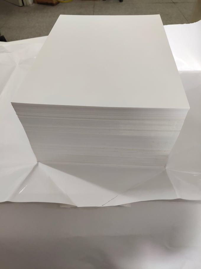 Image of White Eggshell Paper Sheet 500pcs