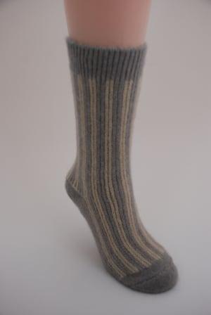 Image of Luxury Possum Adult Socks – Candy Stripes
