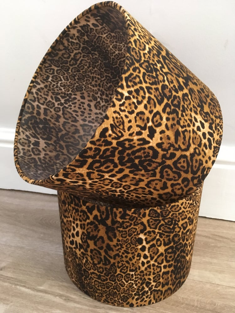 Image of Rose and Hubble Leopard Print Shade