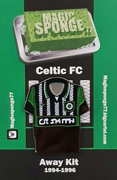 Image of Out Now Celtic FC Classic Black Away Kit Pin