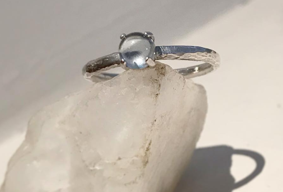 Image of FIRENZA AQUAMARINE RING