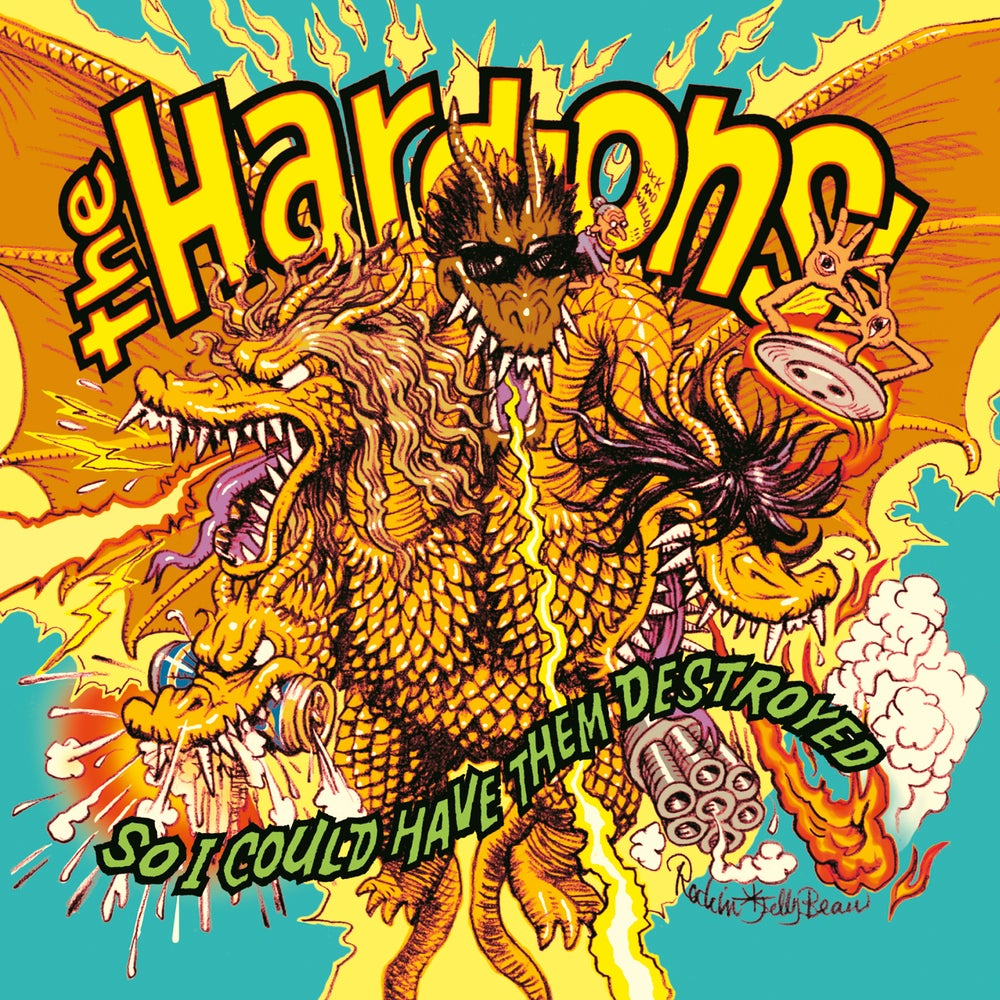 Image of HARD ONS - SO I COULD HAVE THEM DESTROYED CD