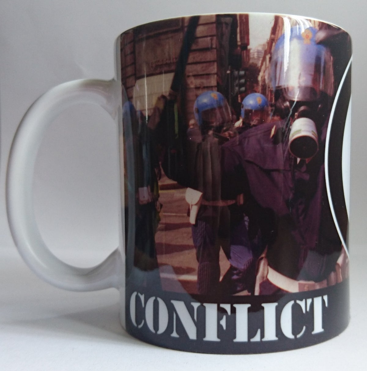 Image of CONFLICT Angry Cop Mug