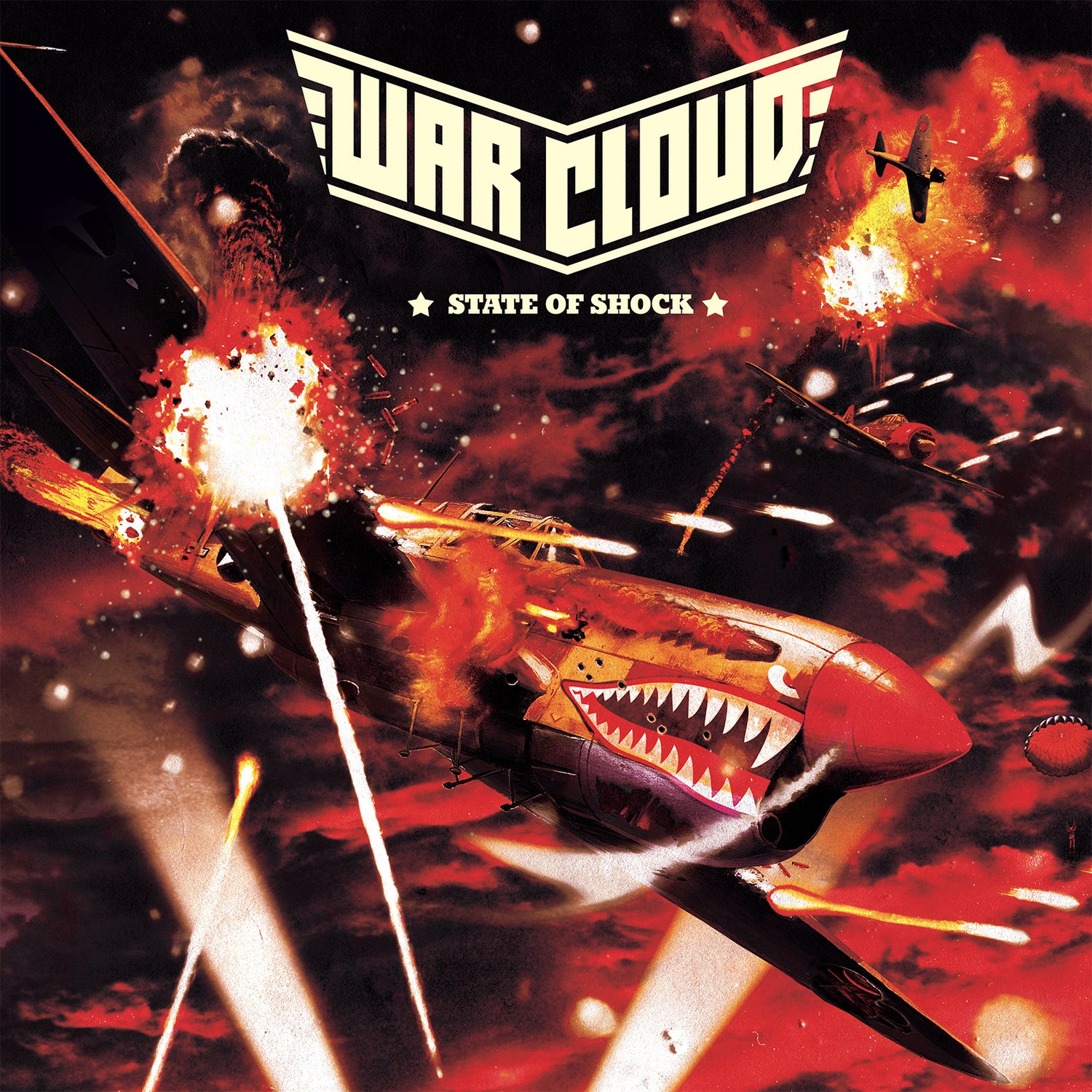 Image of War Cloud - State of Shock Limited Edition Digipak