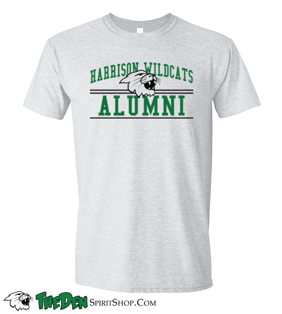 Image of Alumni, Men's Tshirt, Ash Grey
