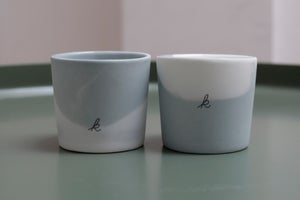 Image of set of two cups 'sea'