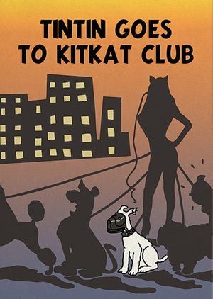 Image of Tintin goes to Kitkat Club