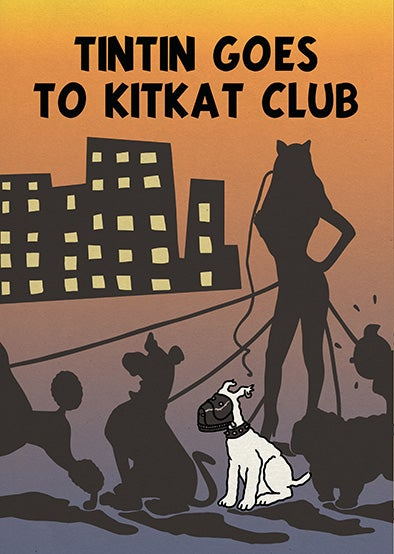 Image of Tintin goes to Kitkat Club
